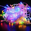 2016 New 240 Bulbs LED bule red green pink white RGB String Fairy Lights Christmas Party Wedding flash lights