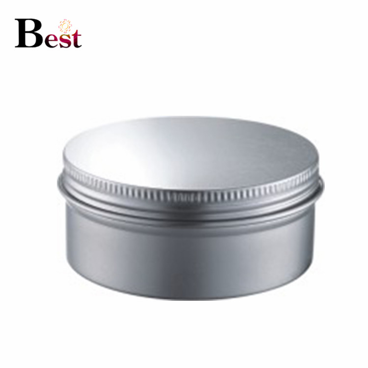 manufacturer 10g 30g 50g 100g hair wax cream pot metal aluminum can silver aluminium jar