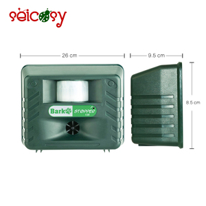 ABS Plastic Weather Resistant Ultrasonic Bark Control Pest Electrical Alarm Insect Repeller