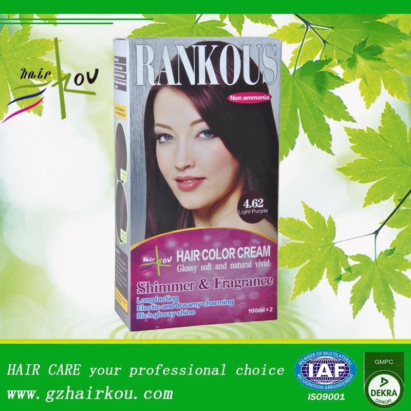 Vegetable Halal Organic Non Allergic Hair Dye Color Without