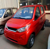 4 wheel mini left hand drive electric car solar power automobiles with good price A6