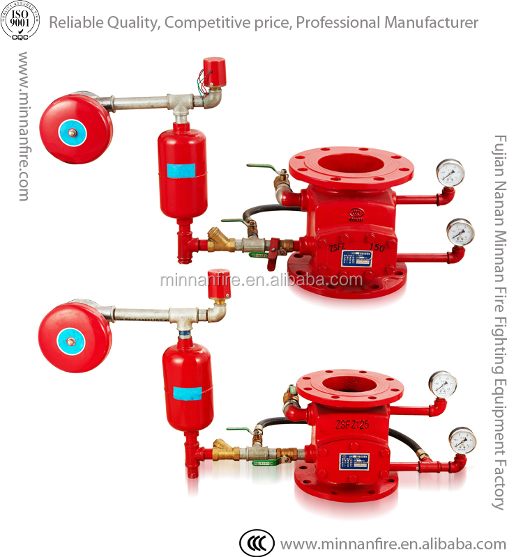 Fire Fighting Pipe System Ductile Iron Zsfy Alarm Check