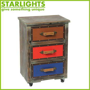 Small Antique Wooden Cabinet Chest Of Drawers Bathroom Furniture