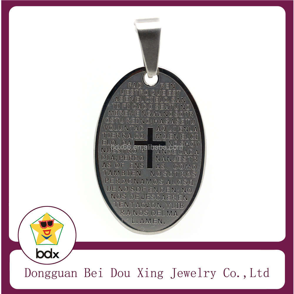 christopher saint jewellery pendants medallion gentile pendant image collection silver rectangular