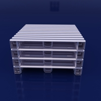 Customized Galvanized Heavy Duty Stackable Aluminium Metal Steel Pallet for Warehouse