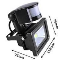 20w Pir Led Projector Lamp Infrared Motion Sensor Led Flood Lights ...