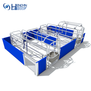 New design pig cage equipment/Excellent Performance galvanized pig farrowing crates