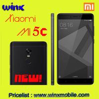 2017 New!original mi5c MI 5c 5.5 inch 3GB RAM 64GB ROM Mobile Phone black alibaba.com in russian cell phone price list