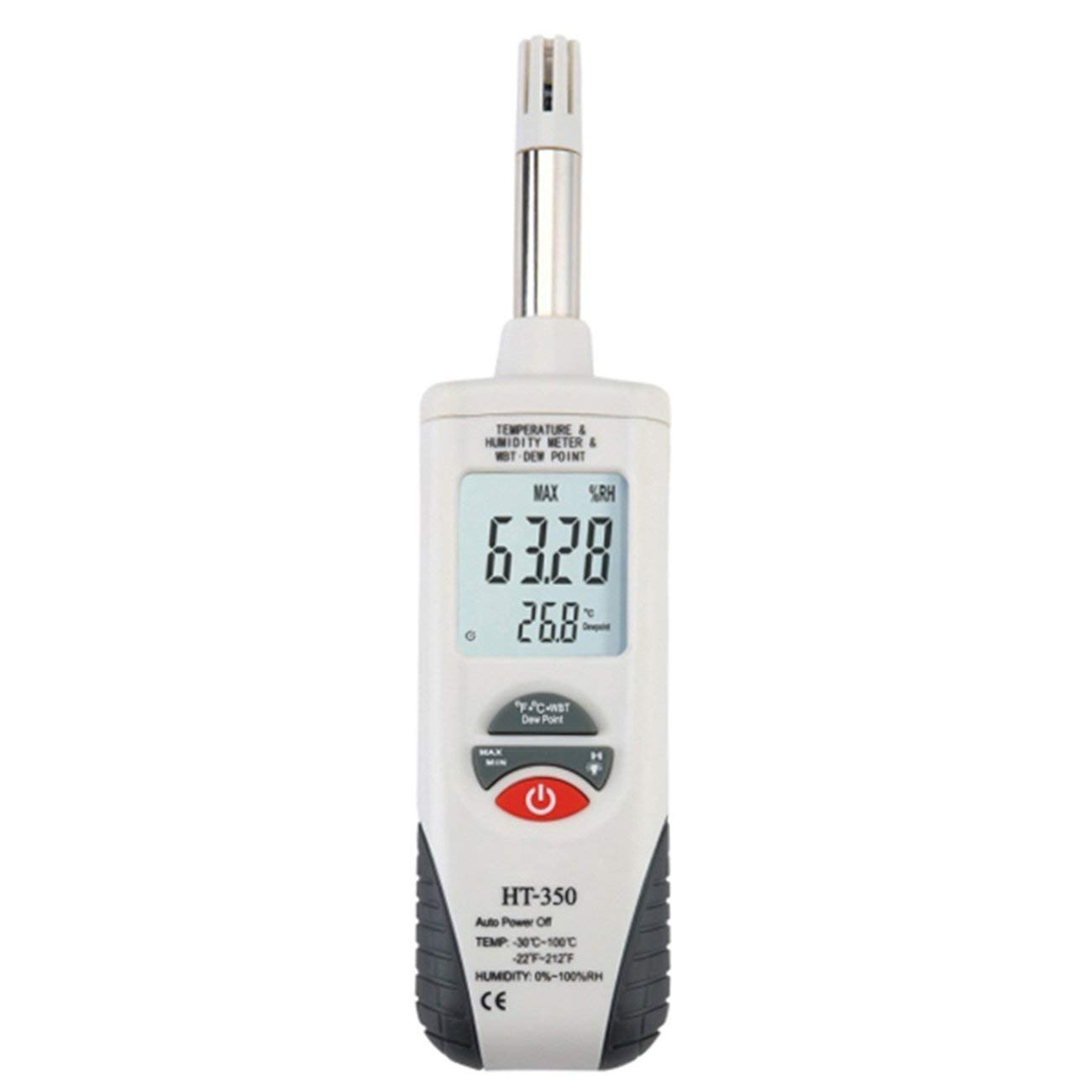 Jiobapiongxin HT-350 Mini High Accuracy Thermometer LCD Display Temperature Humidity Meter