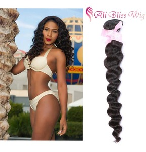 100% Unprocessed Virgin Hair Loose Wave Bundles Natural Color Raw Malaysian Hair Weave Wholesale Passion Human Hair Extension