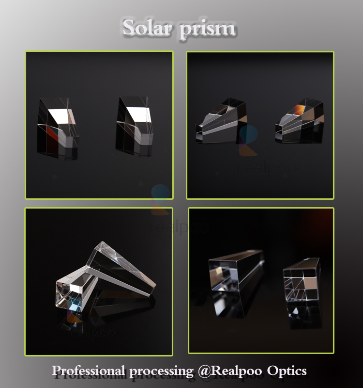Factory process and design Glass Solar Prism