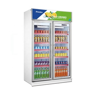 commercial refrigerator glass door Upright display freezers bar fridges bottle coolers at low prices