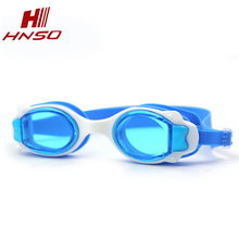 Price no leaking anti fog silicone strap cartoon funny children swimming goggles wholesale
