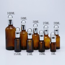 Hot Sale & High Quality 100ML Glass Essential Oil Bottles Amber