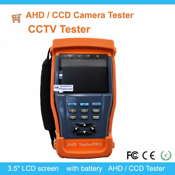 "Hot Sale Analog CCTV Tester with 3.5"" LCD for IP/AHD/CCD Camera"