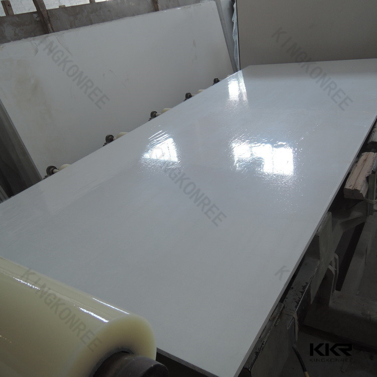 Quartz stone slabs container loading / floor slab