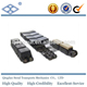 12A-G2 rubber roller chain with vulcanised elastomer profiles
