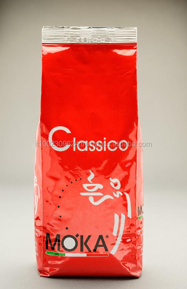 Classico Moka Arabica And Robusta Coffee Beans Espresso