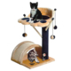 Oem Factory Fashion Designer waterproof scratch bed cheap simple customized condo tower happy pet house cat tree