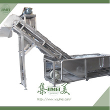 Food Industry Automatic Fruit Cleaner For Apple/Pear/Peach/Strawberry/Date/Grape/Blackberry/Lemon