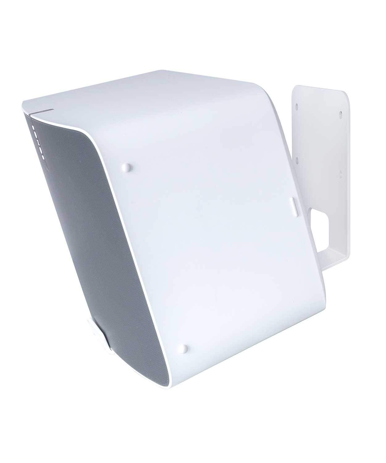 Vebos wall mount Sonos Play 5 gen 2 white 20 degrees and optimal sound experience in every room - Compatible with Sonos Play 5