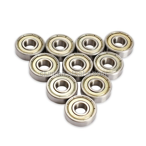 Hot sales factory price 608 Skateboard Scooter Ball Roller Ball Bearings Skate Wheels