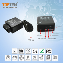 OBD 2 vehicle tracking system con il consumo <span class=keywords><strong>di</strong></span> carburante e leggere il codice <span class=keywords><strong>di</strong></span> errore GPS tracker