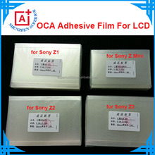 "OCA optical clear adhesive double sided for apple iphone 6 4.7"" 5.5""/samsung/sony/LG/Nokia/Xiaomi 250um thickness"
