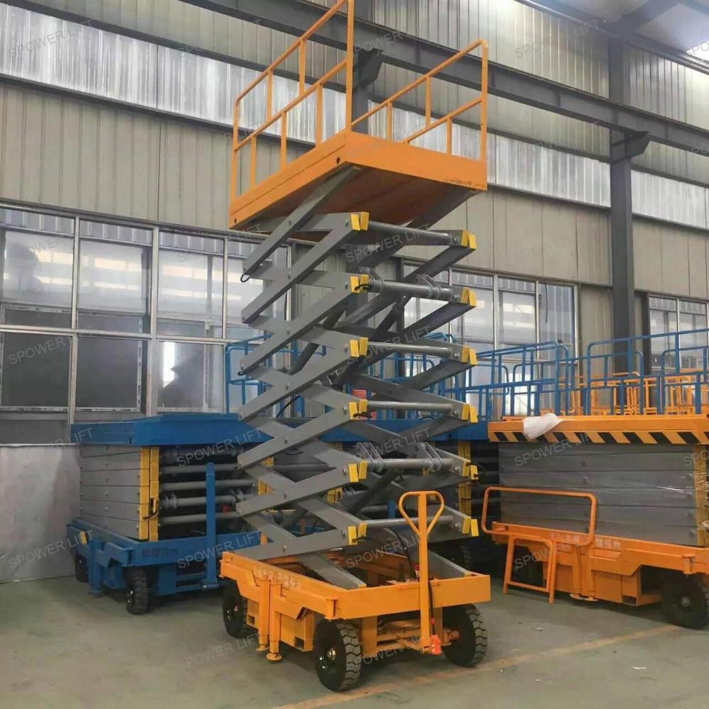Used Car Warehouse: Warehouse Used Mobile Hydraulic Scissor Lift Platform