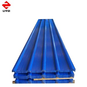 Decorative Corrugated Steel Sheet Metal Wall Panels For Container