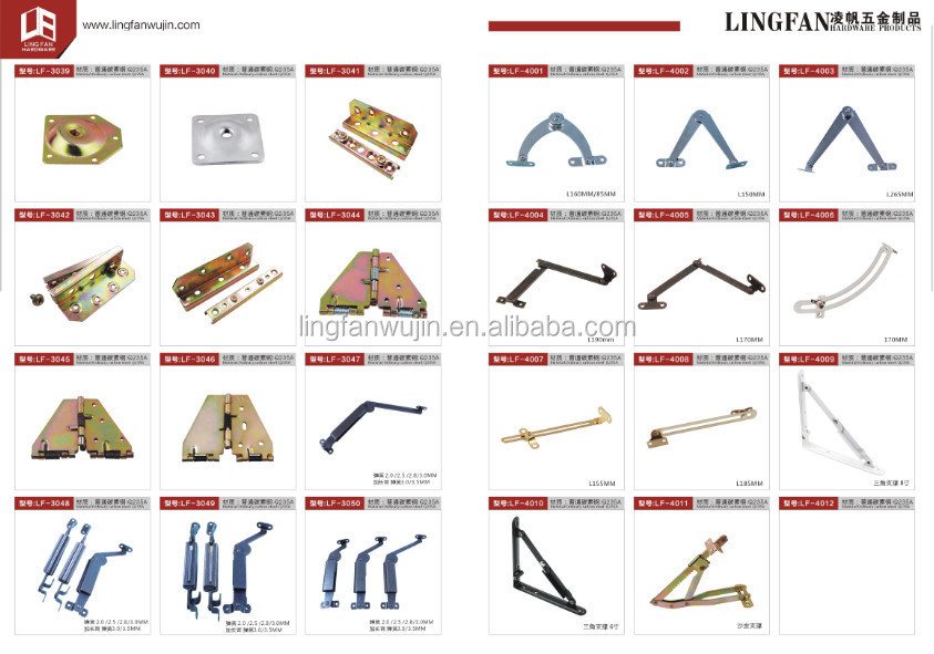 Iron Bed Frame Fittings Furniture Hardware Fitting Parts
