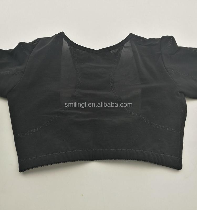 71c4729d38d81 Long Sleeve spandex magnetic posture corrector underbust shaper bra vest  breast push up support corset