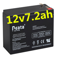 Neata ISO CE SGS UL ups inverter battery charger battery for 20hr 12v 7.2ah