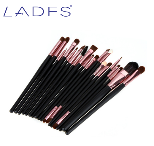 LADES 20Pieces Rose Gold Makeup Brushes Set Synthetic High Quality Makeup Sets Soft Hair