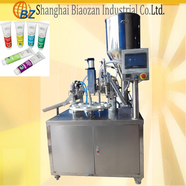 Manual paste filling machine, small scale juice filling machine,hand cream filling machine