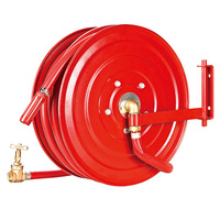 High Pressure Red Hose Reel for 19mmx25m Double-jacket Ultra-thin Fire Hose Reel