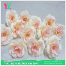 imported from china wholesale rose silk artificial flower decoration fabric flower