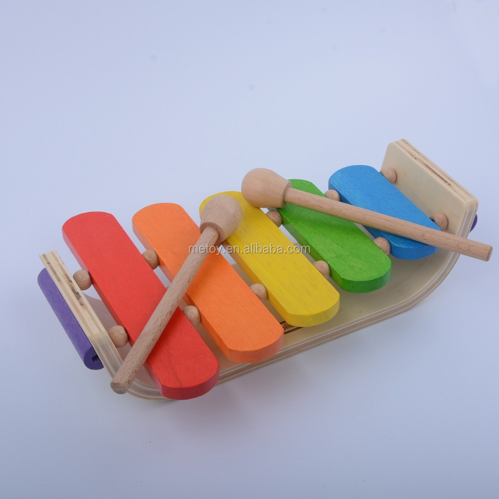 Children toy musical instrument wooden xylophone toy