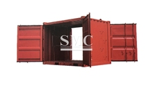 Container,diffuser container,container lashing twist lock