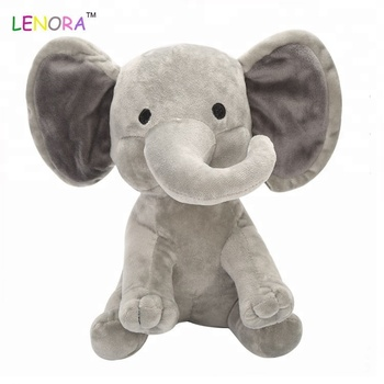 Most Popular Unique Design Plush Toy With Long Nose Baby Elephant