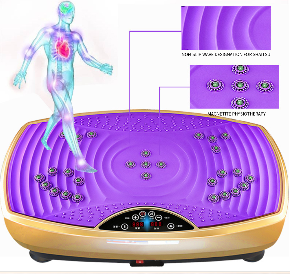 Best Seller Electronic Body Shaker Vibration Plate Machine Crazy Fit  Massage With Bluetooth For Music - Buy Best Seller Electronic Shaker  Vibration