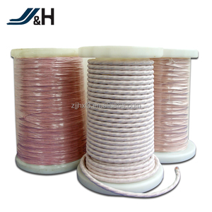 Silk covered litz wire 140/0.1 Electric Motor winding wire for transformer