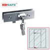 SAFE design stainless steel glass sliding door locks from alibaba china