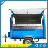 2.0 Ton Loading Food Truck / Towing Food Bus / Waffles,Bbq,Ice ...