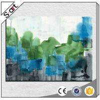 China supplier best sell handmade abstract decor oil painting