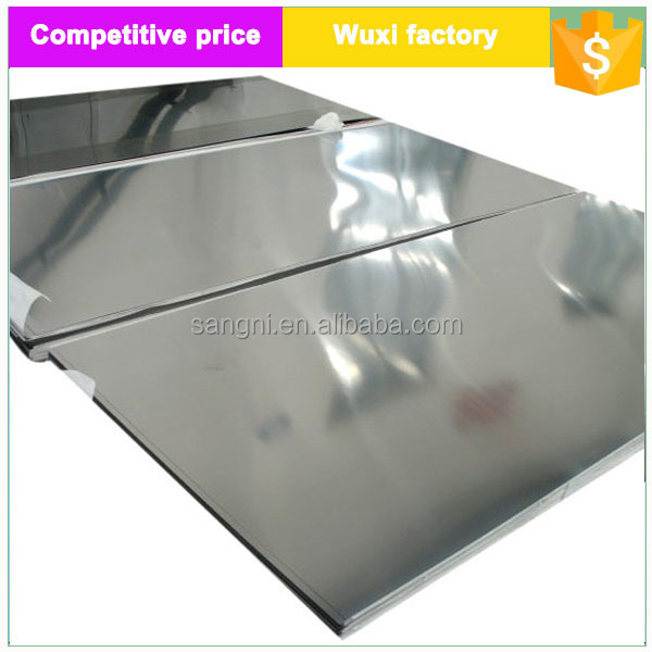 Stainless Steel Sheets 2205 with PVC Laminated Price Per Ton