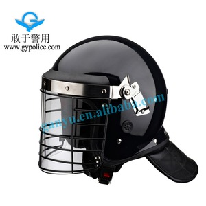 Anti Riot Protective Helmet With Mesh