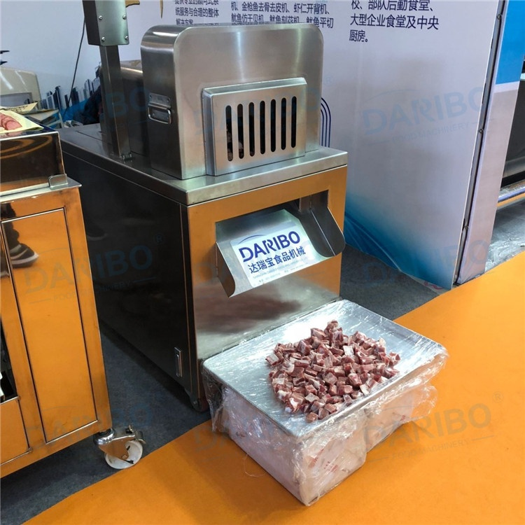 2019 Hot Sale Frozen Meat Cutting Machine for Chicken Duck and Kangaroo with bone