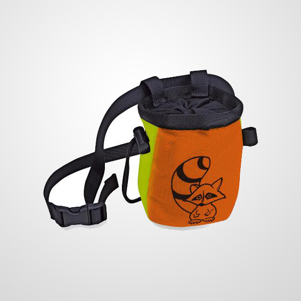 Children Chalk Bag Sized specifically for kids on the rock wall