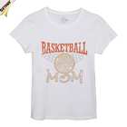 Bling Rhinestone Basketball Mom Latest Iron on Transfer T-shirt